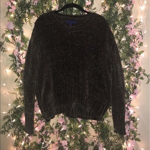 Chenille Long Sleeved Sweater